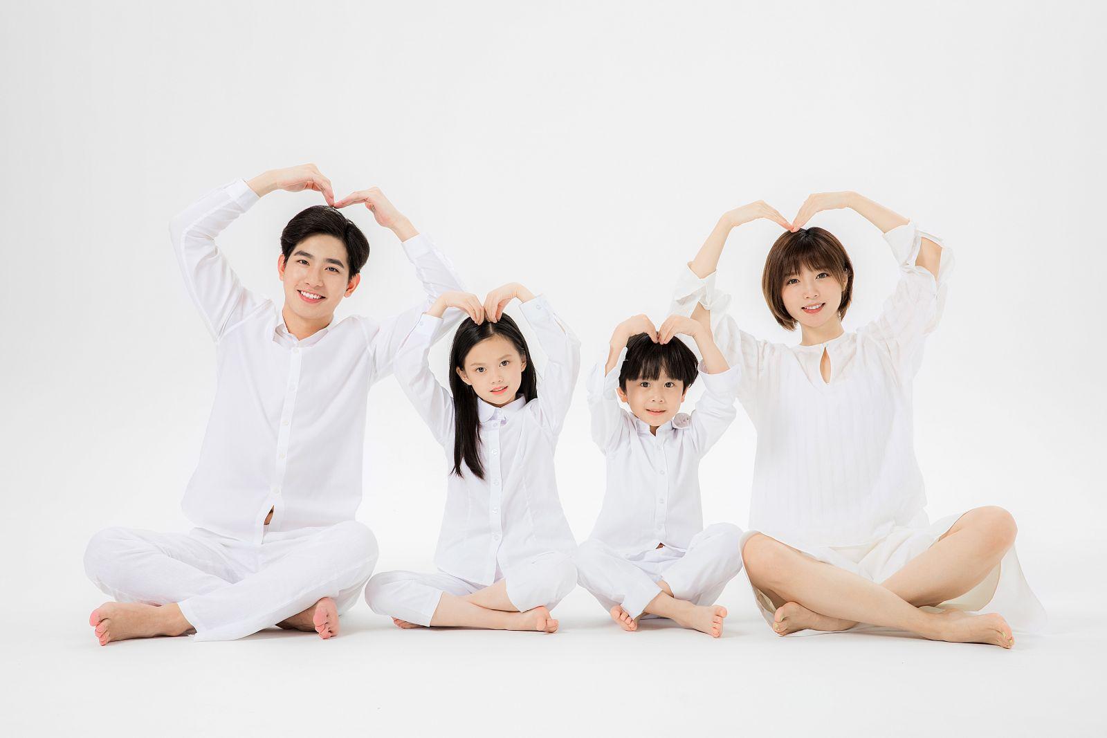 Chụp hình gia đình