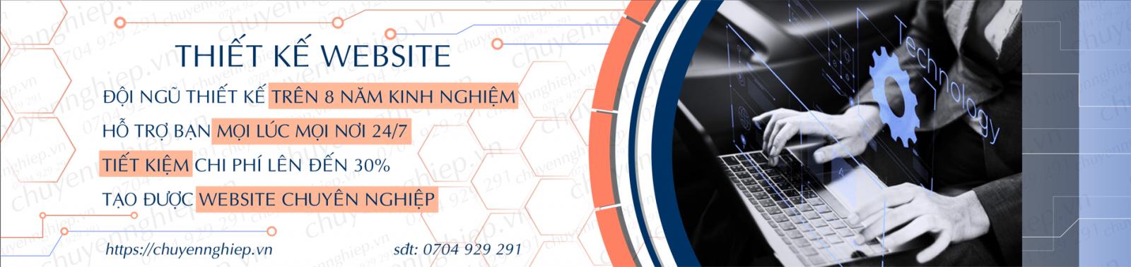 Dịch vụ thiết kế website tại TPHCM